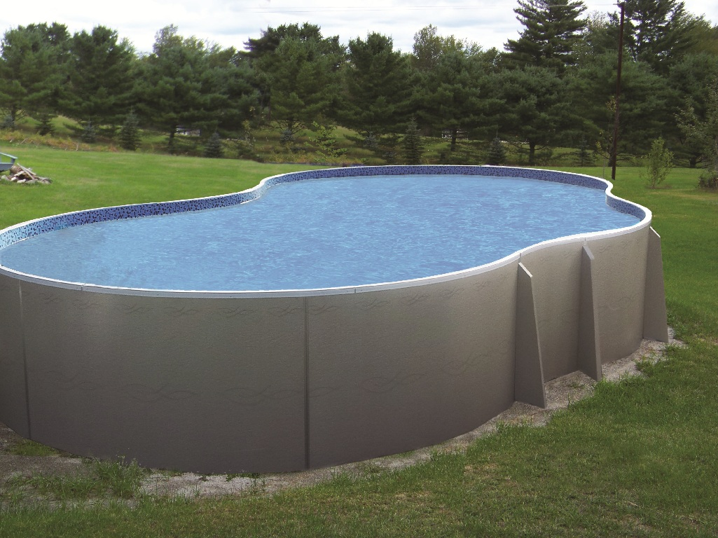 Insulated above ground swimming pools for Above ground pools