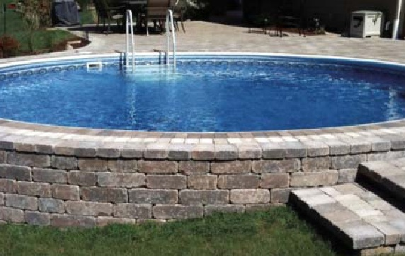 Insulated above ground swimming pools for Round swimming pools above ground