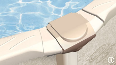 Metal Wall Above Ground Swimming Pools