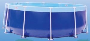 Z Splash Around Aqua Blue round pool
